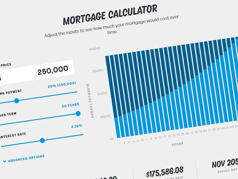 Utilize our calculators to help you make your financial decisions