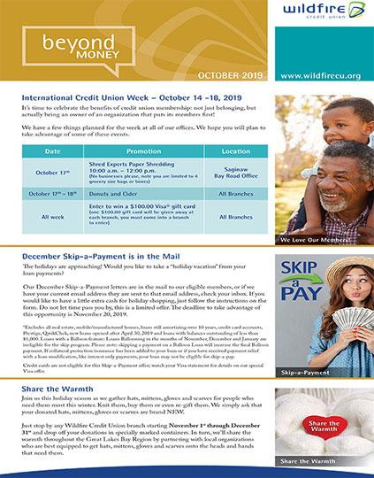 October 2020 Newsletter Thumbnail